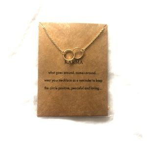 """Jewelry - Gold necklace in """"Karma"""""""